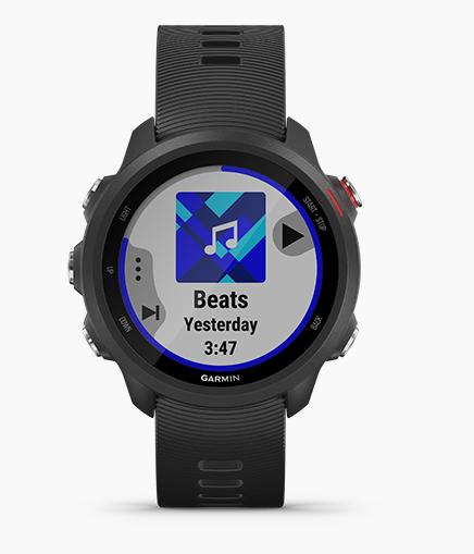 รีวิวนาฬิกานักวิ่งรุ่น Garmin Forerunner 245 Music นาฬิกาทันสมัยสำหรับวิ่ง นาฬิกาฟังเพลงได้ แอพพลิเคชั่นสตรีมมิ่งเพลงยอดนิยมอย่าง spotify